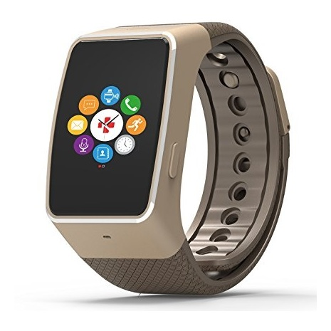 MyKronoz ZEWATCH4 Smart Watch Gold/Brown