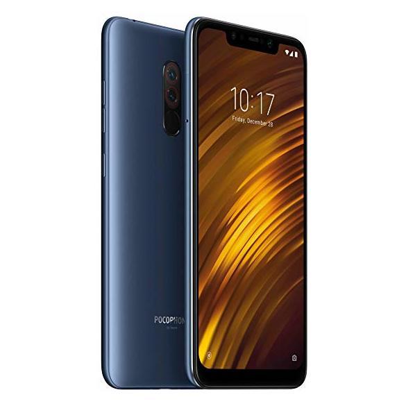 Xiaomi Pocophone F1 64GB Steel Blue 4G LTE Dual Sim Smartphone price