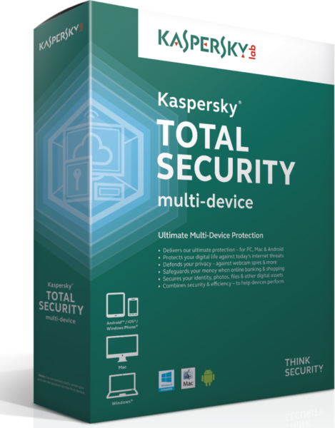 Kaspersky Total Security Multi Devices 3User