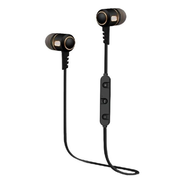 Eklasse EKBTEP12SN Bluetooth Sports Earphone Black/Gold