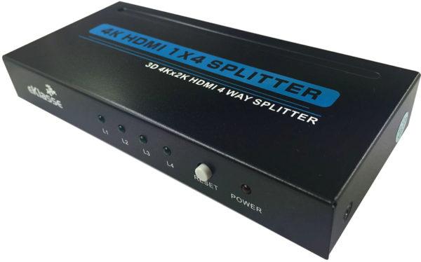 Eklasse EKHDMISP01 HDMI Splitter 4K 3D 1×4