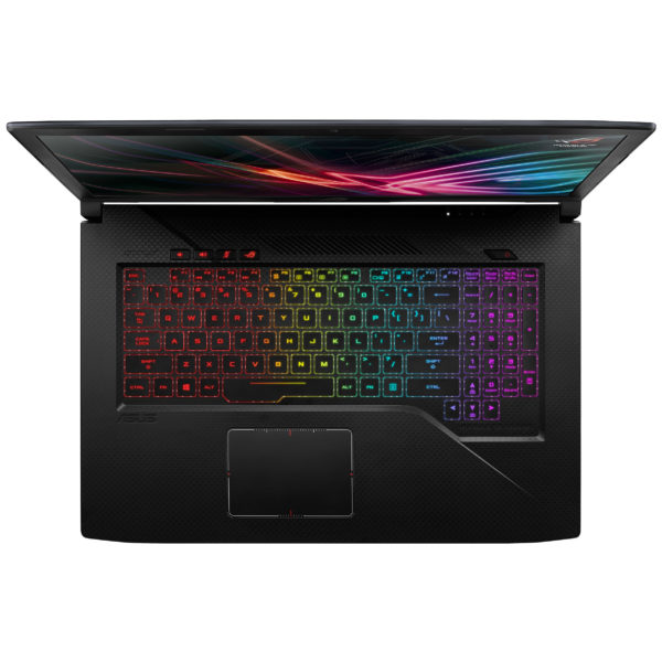 Asus ROG Strix Scar Edition GL703GM Gaming Laptop - Core i7 2.2GHz 16GB 1TB+256GB 6GB Win10 17.6inch FHD Black
