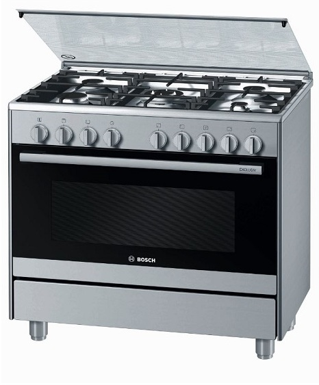Bosch 5 Gas Burners Cooker HSG736357M