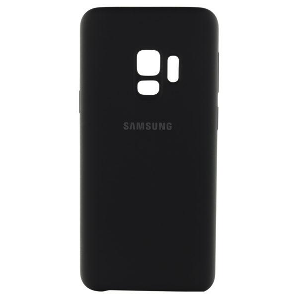 53e787a43c7 Samsung Silicon Back Cover Black For Galaxy S9 Plus – EF-PG965TBEGWW ...