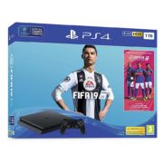 Sony PS4 Slim Gaming Console 1TB Black With FIFA19 Game Bundle