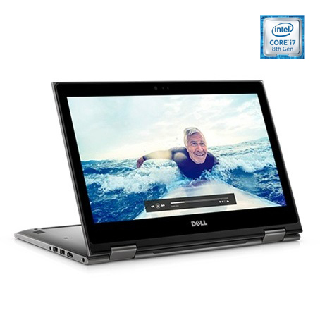 Dell Inspiron 13 5379 Convertible Touch Laptop - Corei7 1.8GHz 8GB 1TB Shared Win10 13.3inch FHD Silver