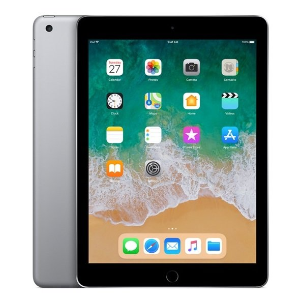 Apple iPad (2018) - iOS WiFi 128GB 9.7inch Space Grey