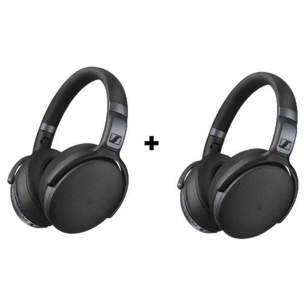 5a71f5a9362 Sennheiser HD 4.40 BT Wireless Bluetooth On Ear Headset + HD 4.40 BT  Wireless Bluetooth On