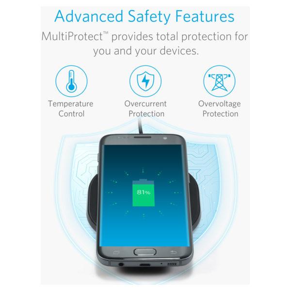 online store a7d30 aeaf5 Anker Powerport Wireless Charging Pad Black price in Oman   Sale on ...