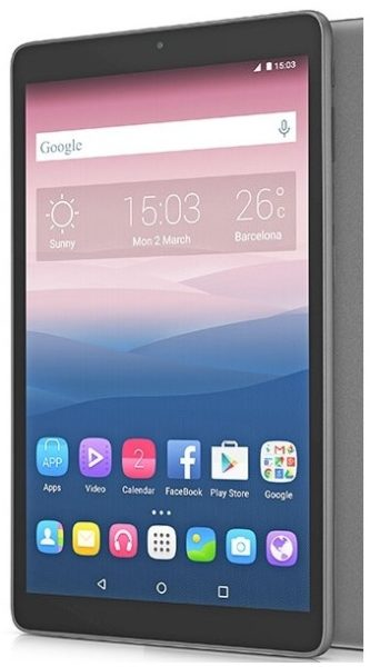 Alcatel Pixi 3 (10) Tablet – Android 5.1 WiFi+3G 8GB 1GB 10inch Volcano Black