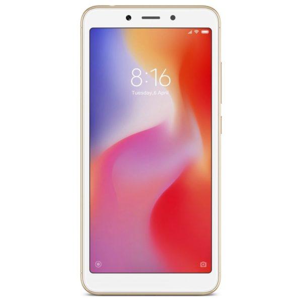 Xiaomi REDMI 6 64GB Gold 4G Dual Sim Smartphone