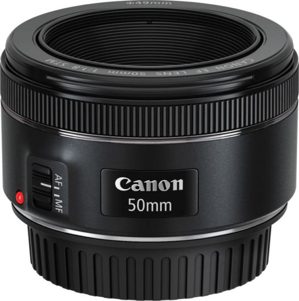 Canon EF 50MM F/1.8 STM Camera Lens
