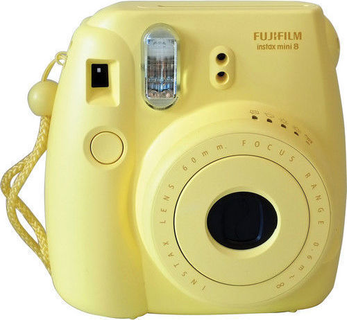 Fujifilm INSTAXMINI8 Instant Film Camera Yellow W/ 10sheets Film