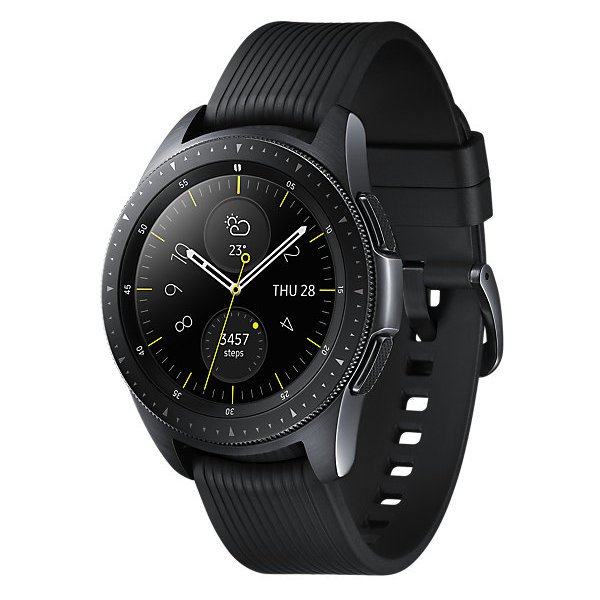 Samsung Galaxy Watch 42mm Midnight Black + Samsung Level U Pro Wireless Headphone
