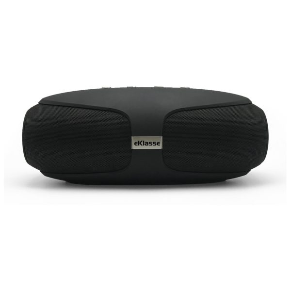 Eklasse Splash Proof Wireless Speaker Black - EKBTSP17MT