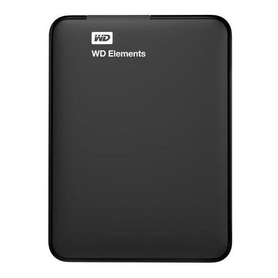 Western Digital Elements Portable Hard Drive 3TB Black WDBU6Y0030BBKWESN