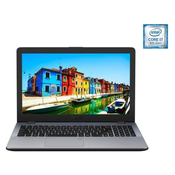 Asus Vivobook K542UF Laptop – Core i7 1.8GHz 8GB 1TB 2GB Win10 15.6inch HD Grey