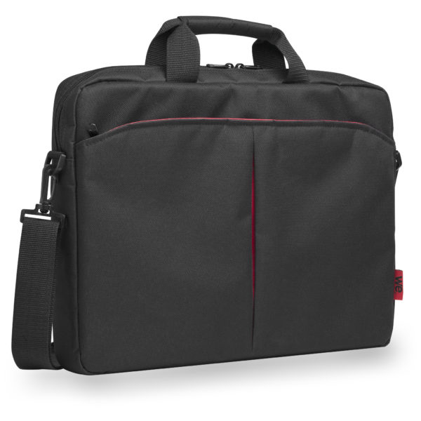 We Classic PC Carry Bag 15inch Black/Red SACCC15R