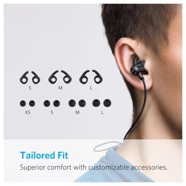 447a623aeff Anker Soundbuds Slim Bluetooth Headphone Black – A3235H11 price in ...