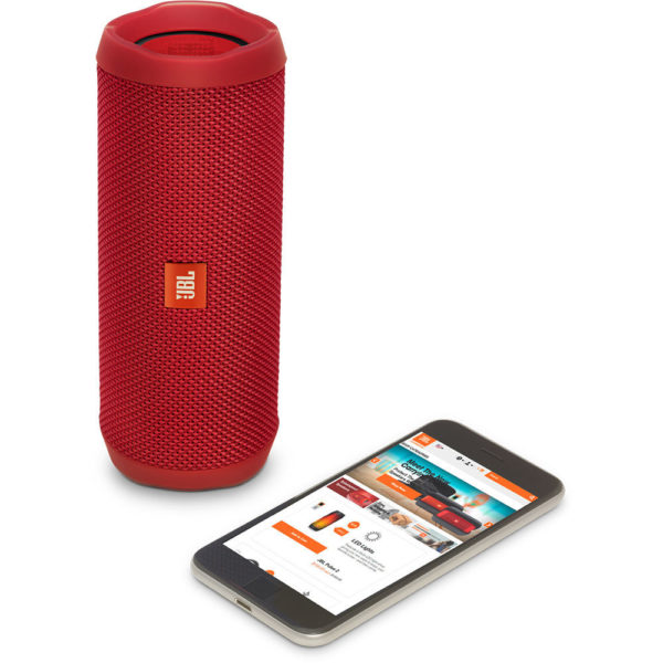 JBL FLIP4 Waterproof Portable Bluetooth Speaker Red