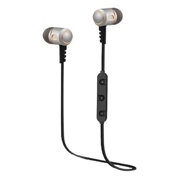 Eklasse EKBTEP12SN Bluetooth Sports Earphone Silver/Gold