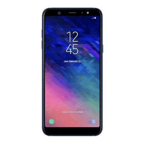 6ad59e07bbc Samsung Galaxy A6 64GB Blue 4G LTE Dual Sim Smartphone price in Oman ...