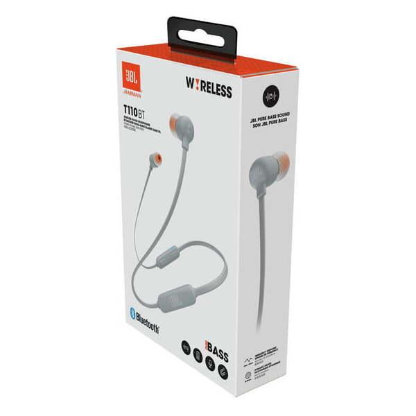 6f65e8d84d5 JBL In Ear Bluetooth Headset Grey T110BT price in Oman | Sale on JBL ...