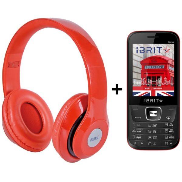 ab346fda889 Nova BH110 BT Headset + Ibrit JAZZ2 DS Feature Phone price in Oman ...