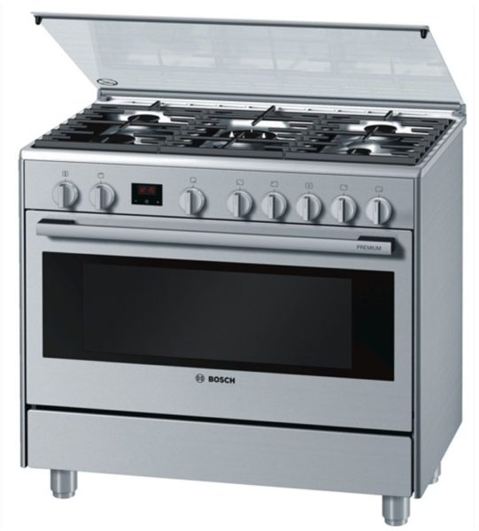 Bosch 5 Gas Burners Cooker HSG738357M