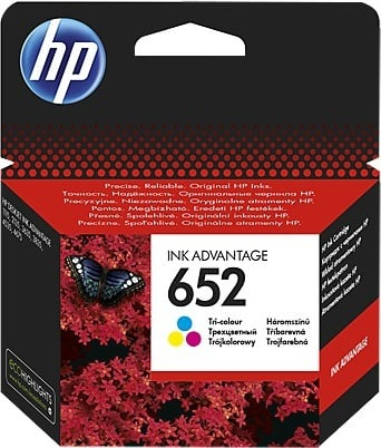 HP 652 F6V24AE Ink Cartridge Tricolor
