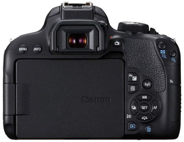 Canon EOS 800D DSLR Camera Black With EFS 18-55mm IS STM Lens
