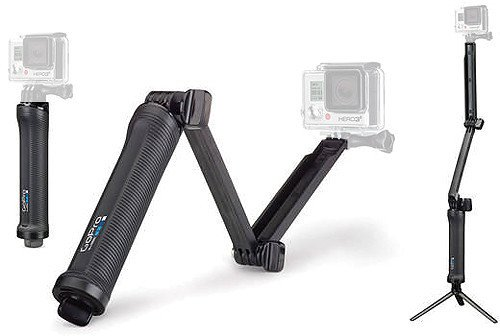 Go Pro AFAEM001 3Way Grip Arm Tripod For Cameras