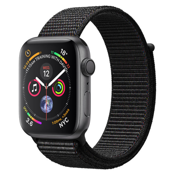 Apple Watch Series 4 GPS 44mm Speace Grey Aluminium Case With Black Sport Loop