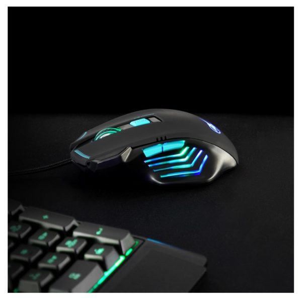 Port Design 901400 Arokh X1 Gaming Mouse Black