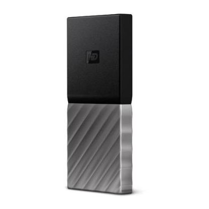 Western Digital WDBK3E2560PSLWESN My Passport USB 3.1 Solid State Drive 256GB Black/Grey