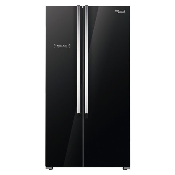 Super General Side By Side Refrigerator 600 Litres SGR860SGSBLK