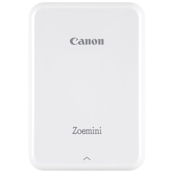 Canon PV-123 Zoemini Portable Photo Printer White + ZP-2030 Zink Photo Papers