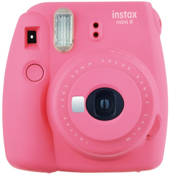 Fujifilm Instax Mini 9 Instant Film Camera Flamingo Pink + 20 sheets