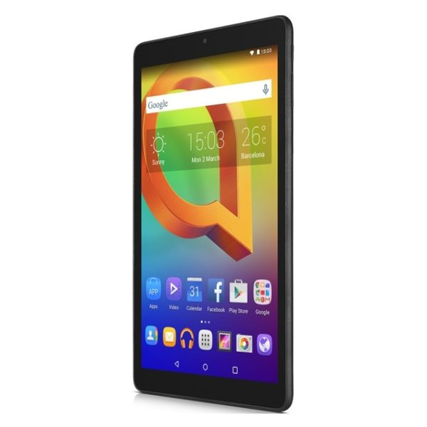 Alcatel A3 8079 Tablet - Android 16GB 1GB 10inch Black