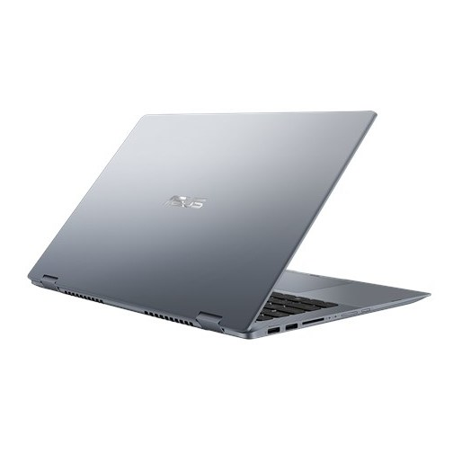 Asus VivoBook Flip 14 TP412UA Convertible Touch Laptop - Core i3 2.3GHz 4GB 128GB Shared Win10 14inch FHD Star Grey