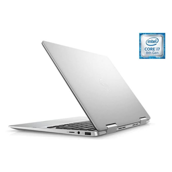 Dell Inspiron 13 7386 Convertible Touch Laptop - Core i7 1.8GHz 16GB 512GB Shared Win10 13.3inch FHD Silver