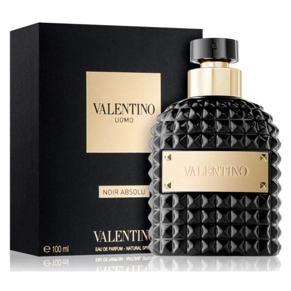 Absolu De Valentino For Men Eau Parfum Uomo Noir 100ml WH9IED2