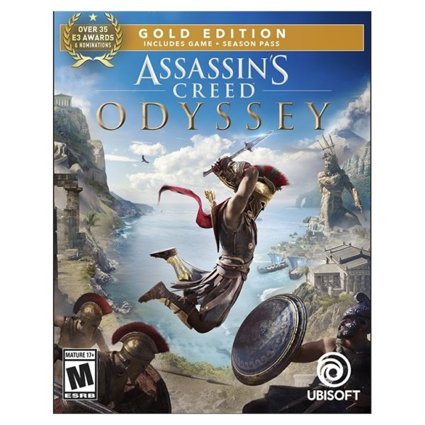PS4 Assassins Creed Odyssey Gold Edition Game