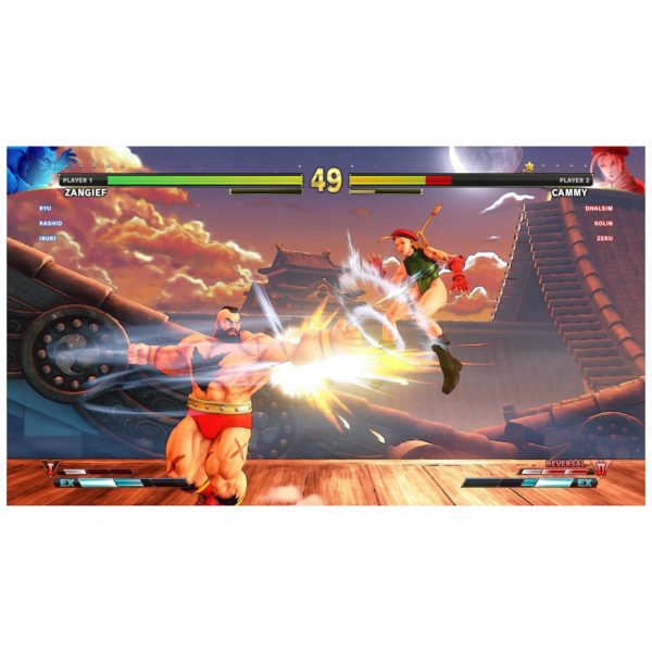 PS4 Street Fighter V Arcade Edition Game