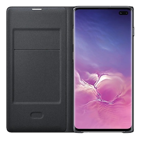 Samsung LED View Case Black For Galaxy S10 Plus