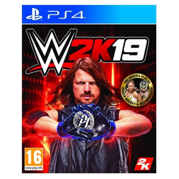 PS4 WWE 2K19 Game