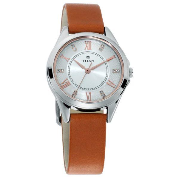 7047612676 Titan Sparkle White Dial Analog Watch For Ladies price in Oman ...