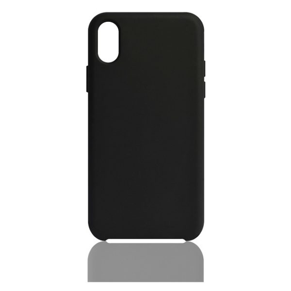 huge selection of e81a8 f7762 We Rigid Silicone Case Black For iPhone X/XS