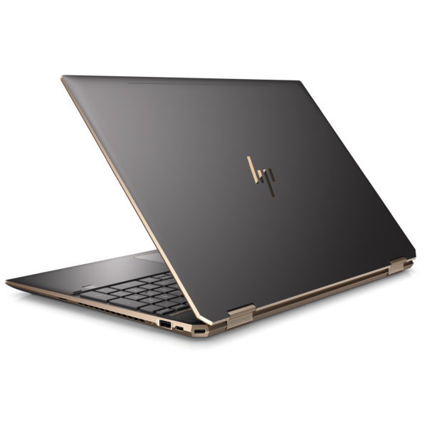HP Spectre x360 15-DF0004NE Convertible Touch Laptop - Core i7 1.8GHz 16GB 1TB 2GB Win10 15.6inch FHD Dark Ash Silver
