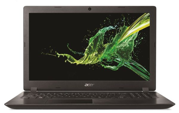Acer Aspire 3 A315-53-34CE Laptop - Core i3 2.3GHz 4GB 1TB Shared 15.6inch HD Black